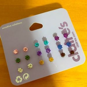 Lot of 9 color studs